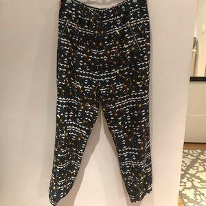 J crew patterned pants